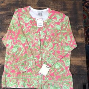 Sarah Spencer paisley print sweater